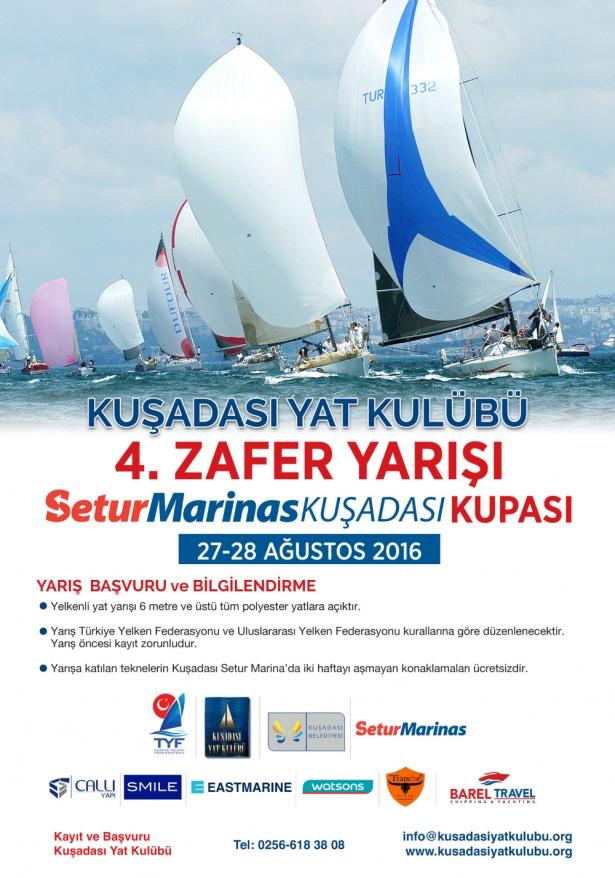 KAYK 4. ZAFER YARIŞI SETUR MARINA KUPASI - 27-28  AĞUSTOS 2016
